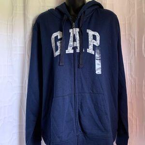 Gap-Navy blue zip up hoodie